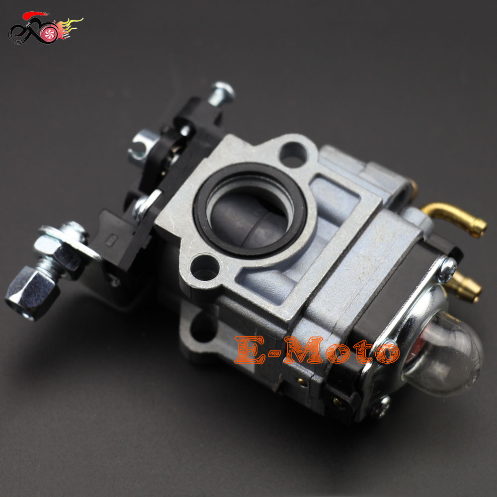 Carb Carburetor 43cc 49cc 2 Stroke Engine Pocket Bike Super Razorback Boreem 15mm Intake Hole(China (Mainland))