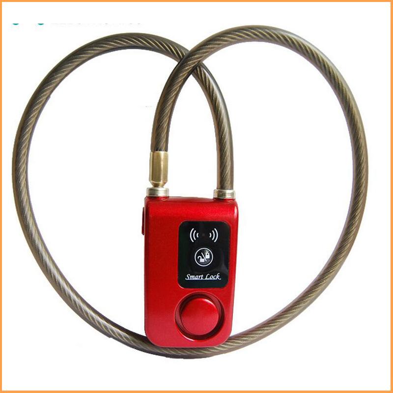 2016 new bicycle locks anti hydraulic shear electric vehicle anti theft lock bluetooth - How to open chain lock ...