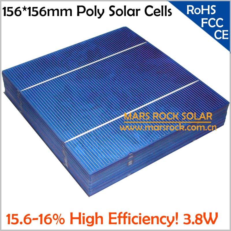 1000pcs Wholesale 3 8w Polycrystalline Solar Cells 6x6 2