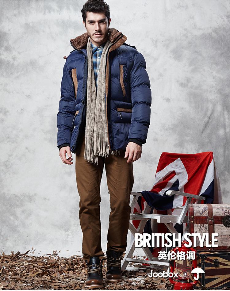 2015 Winter Button Design Jacket High Quality Down Men Clothes Winter Ourdoor Warm Sport Jacket Black