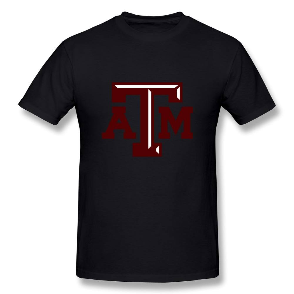 Latest screw neck texas a m university college station t for T shirts for college guys