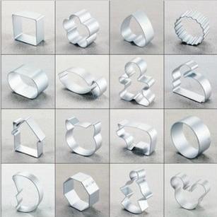 Aluminum alloy 6 combination biscuits shear modulus set cake mould shape 24 6