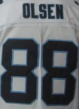 Cheap Men's Authentic #1 Cam Newton Jersey #24 Josh Norman #59 Luke Kuechly #88 Greg Olsen 100% Stitiched Logo Jerseys(China (Mainland))