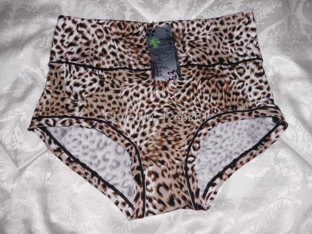 2014 High-quality New 2pcs Fashion Bamboo Fiber Womens Underwear Ladies Leopard Slim Sexy Panties Female Comfort Cotton Briefs(China (Mainland))