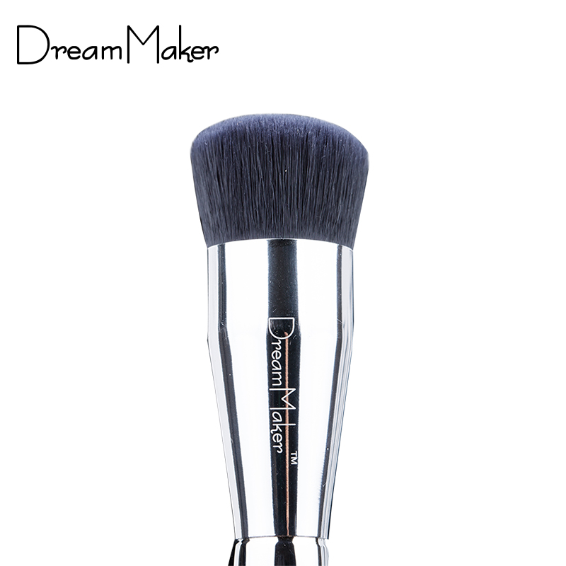 Makeup Brushes Professional Flat foundation brush Easy For Beauty Make up w/ case brochas maquillaje(China (Mainland))