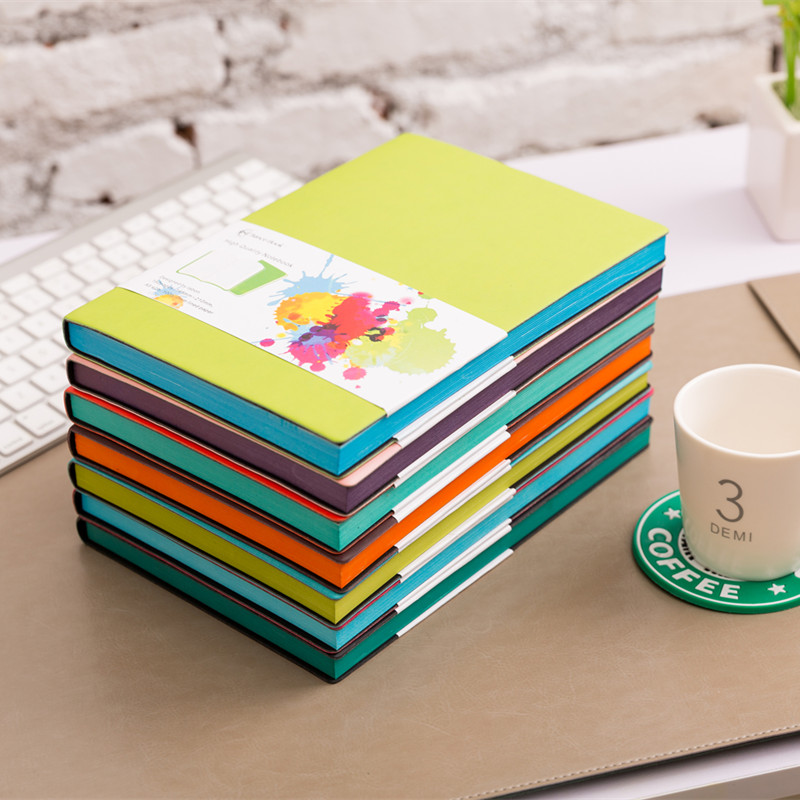 Free shipping Notebook office stationery diary notepad korean sketchbook school office supplies frozen office accessories(China (Mainland))