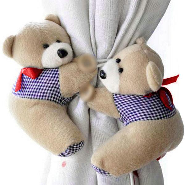 2PCs Home Office Window Curtain Hook Tieback Plush Curtain Buckle Hanger Belt Tie(China (Mainland))