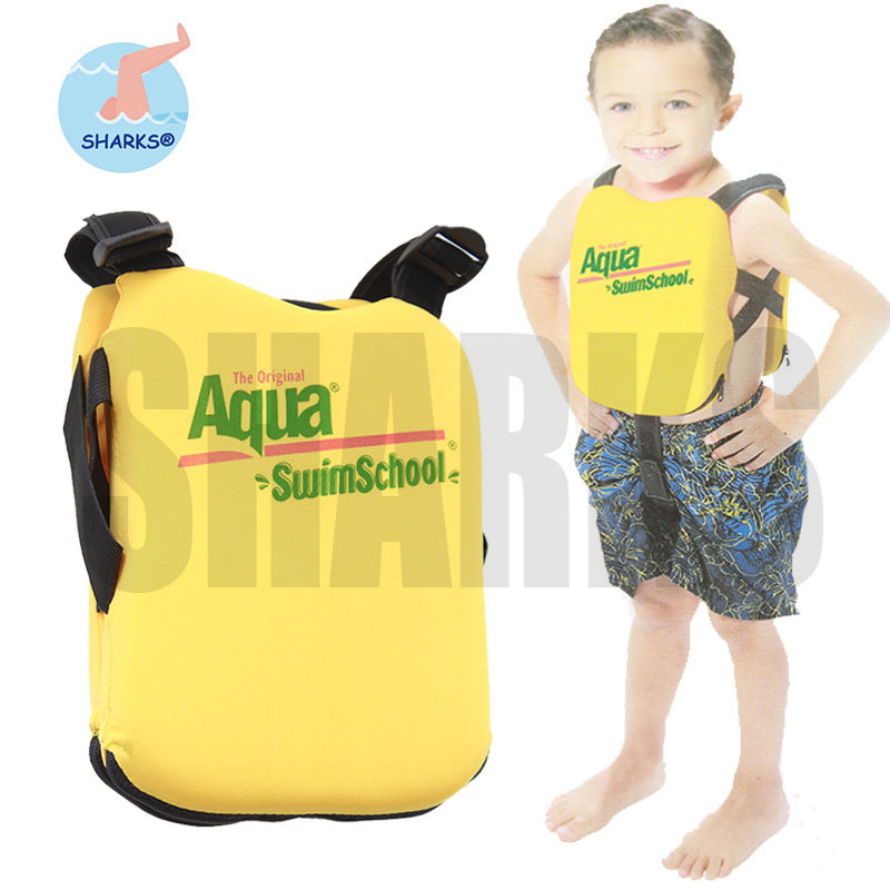 Swim School Adjustable Kids Swim Trainer Life Vest Baby Swimming Drifting Safety Vest for Boys and Girls swim vest children(China (Mainland))