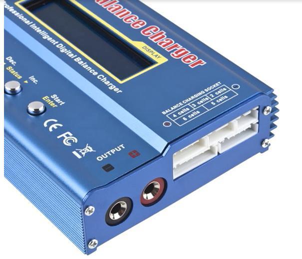 IMAX B6 Digital RC Lipo NiMh Battery Balance Charger AC POWER 12V 5A Adapter 2S 6S