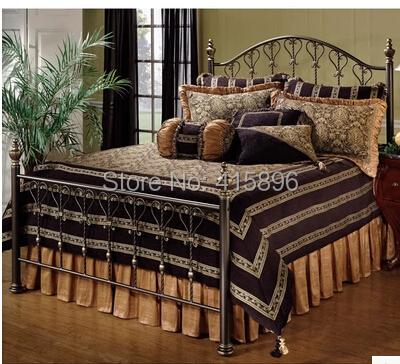 hot selling iron bed furniture design(China (Mainland))