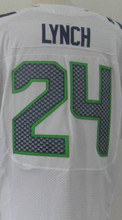 Men's 24 Marshawn Lynch jersey 88 Jimmy Graham 25 Richard Sherman 31 Kam Chancellor jersey size M-XXXL(China (Mainland))