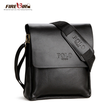 POLO Famous Brand Classic Design Leather Mens Messenger Bags Promotional Casual Business Man Bags Shoulder Bag Briefcase FB2061(China (Mainland))