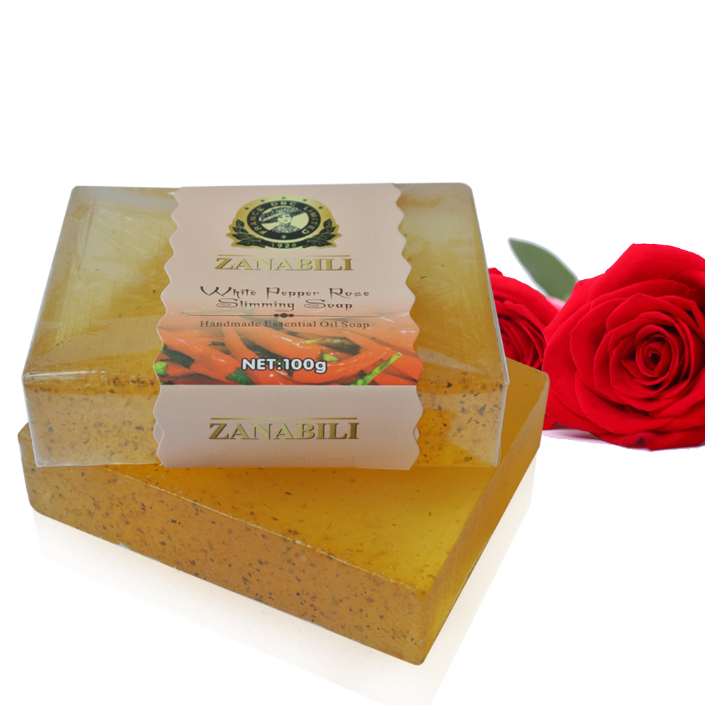 (5pcs/lot) High Quality Pepper Slimming Soap Weight Loss Soap Bath Body Soap Beauty Health Soap(China (Mainland))