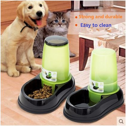 Hot !!! Automatic Pet Dog Cat Water Drinking Fountain Pet Water Dispenser Pet Feeder Auto Feeder Bowls For Dogs Free Shipping(China (Mainland))