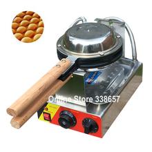 Best professional electric Chinese Hong Kong eggettes puff waffle iron maker machine bubble egg cake oven 220V/110V(China (Mainland))