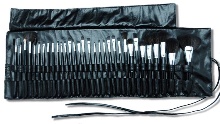 MAC new Fashion Hot Sale Beauty Cosmetic Brushes Makeup Brush Set 32Pcs/Set Good Quality Hair Round Box Replace Mac High Quality(China (Mainland))