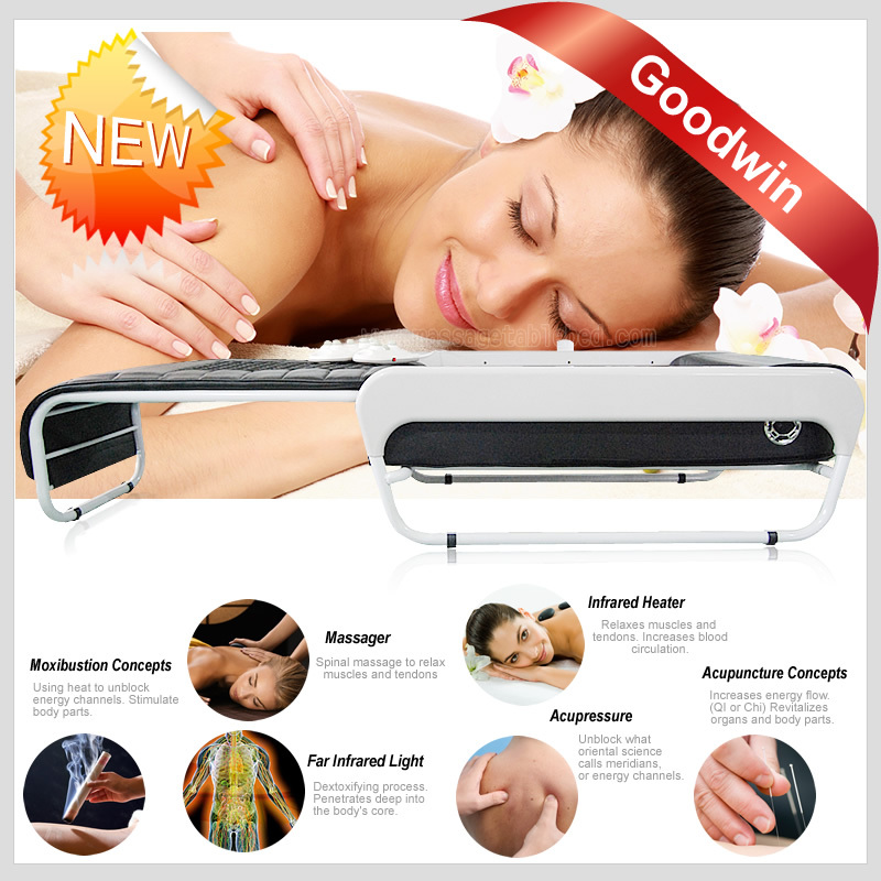 2015 used electric massage table&portable spa facial bed&beauty salon facial bed portable(China (Mainland))