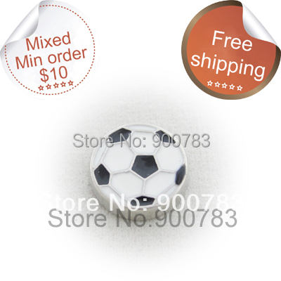 Floating locket charms soccer ball, football charms for floating locket(China (Mainland))