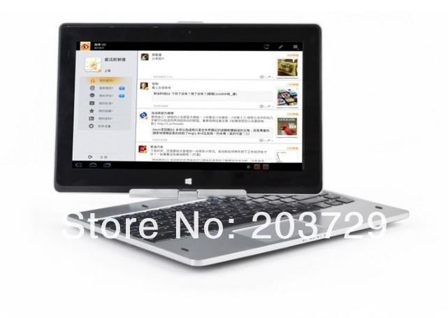 Free shipping 11.6inch Write capacitive touch screen rotation windows8 Intel Atom Celeron 1037U laptop 2pcs/lot(China (Mainland))