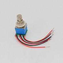 10 шт./лот электрогитара 3PDT эффекты топать педаль переключатель Dpdt фиксацией печатной платы электрической ножной переключатель