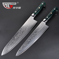 GHL 10 5 Inch damascus knives new Kitchen Knife very sharp meat cutting Cleaver kitchen tools