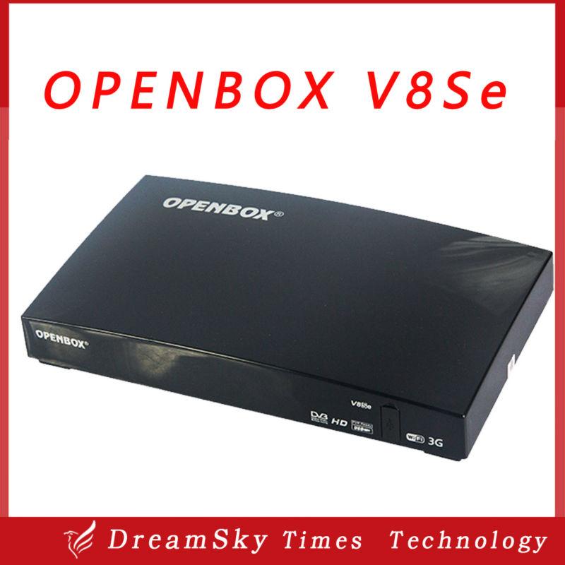 2pcs/lot Original Openbox V8Se Digital Satellite Receiver AV Out USB Wifi WEB TV Biss Key 2xUSB Youporn CCCAMD NEWCAMD(China (Mainland))