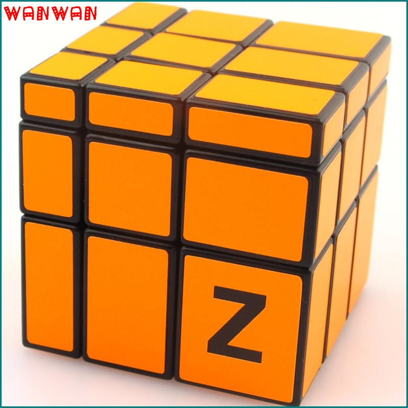 2016 Orange Mirror Magic Cube Professional Blocks New 3x3x3 Cubo Magico Puzzle Speed Classic Toys Children Education Toy(China (Mainland))
