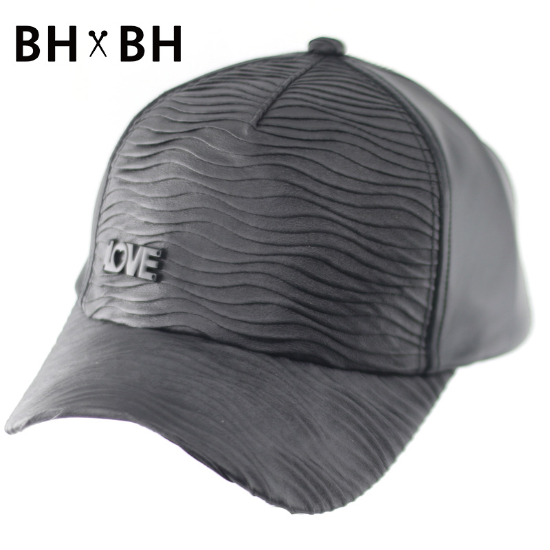 2016 New design PU baseball cap for men and women casual summer outdoor hat adjustable sports cap snapback headwear BH-LDL050(China (Mainland))