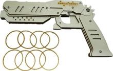 Детские игрушки детям оружие пистолет деревянные логические мягкий пуля DIY детские игрушки оружие резинкой пушки пистолетного Brinquedo армас Que Atiram