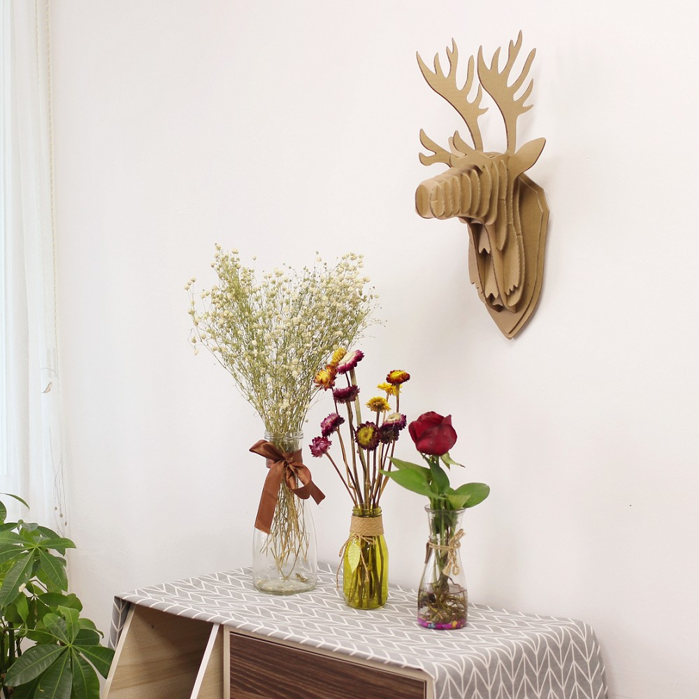 Moose head cardboard promotion shop for promotional moose head cardboard on - Cardboard moosehead ...