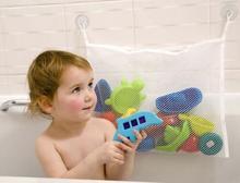 Высокое качество ребенка ванная сетки мешок детей , играющих в игрушки водяной бане чехол Net присоске корзины