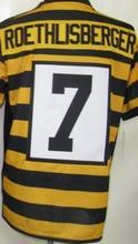 Men's 7 Ben Roethlisberger 43 Troy Polamalu 50 Ryan Shazier 84 Antonio Brown 26 LE'VEON BELL 92 JAMES HARRISON elite jerseys(China (Mainland))