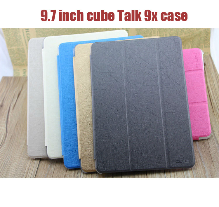 Original Magnetic Folding Case for CUBE U65gt Talk 9X Octa Core Tablet PC Multi Color Talk9X Protective Cover<br><br>Aliexpress