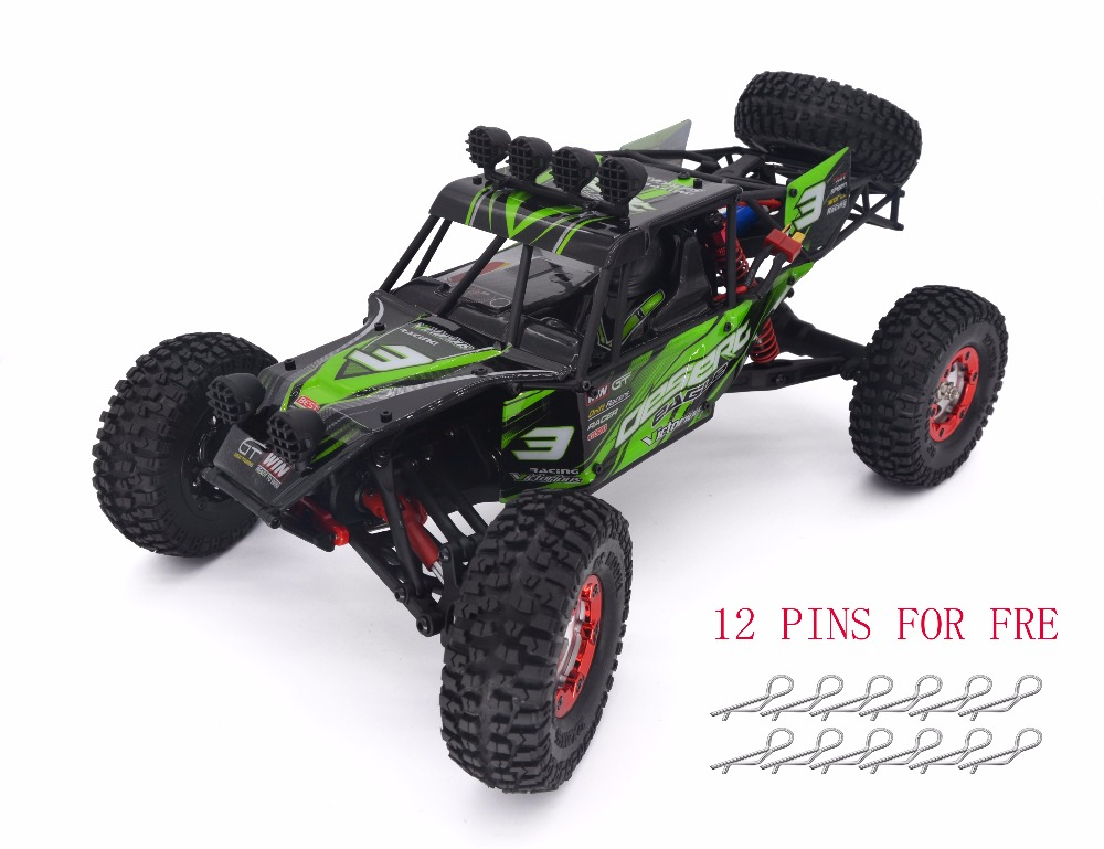 Keliwow 2.4G 4WD 1:12 RC Car With 40km/h High Speed Car Desert Offroad Truck Eagle-3(Green) with 12Pcs R Pins for Free(China (Mainland))