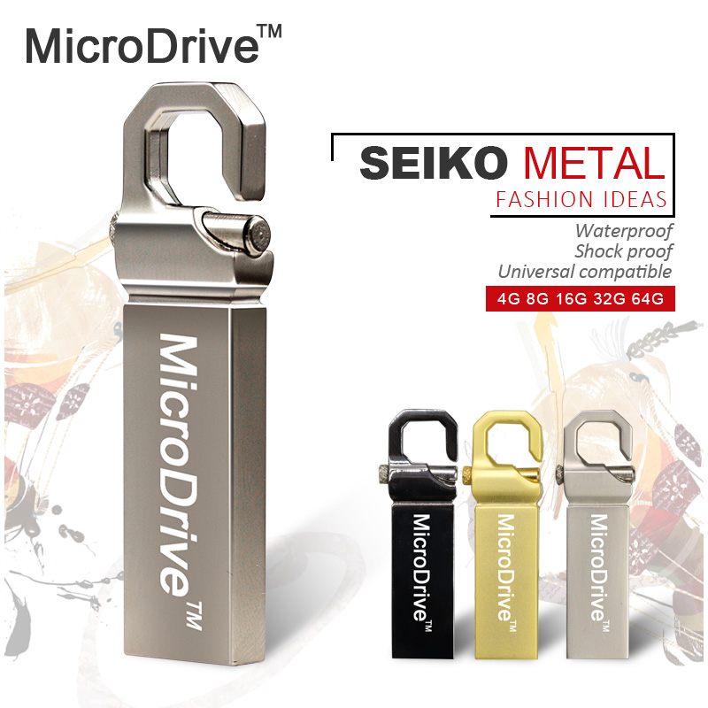 Bestselling! Real Capacity Stainless Steel 2.0 Key Memoria pen drive model usd disk 8gb 16gb 32gb 64gb USB Flash Drive(China (Mainland))