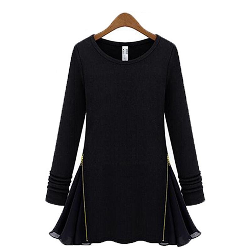 Черный пуловер женский доставка