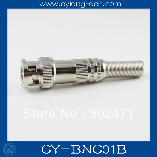 CCTV camera cable Q9 BNC Male Video Plug Coupler Connector 75-5