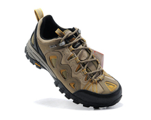 Wear-proof geniune leather men's outdoor shoes professional anti-shock breathable climbing shoes anti-skip men's hiking shoes