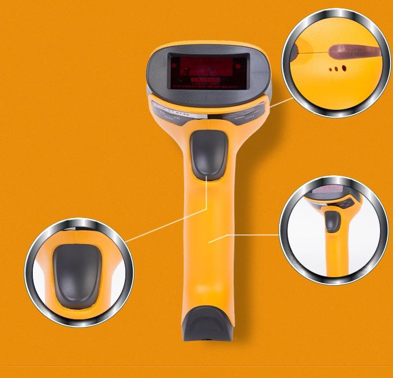 2015 NTEUMM F latest Wired laser barcode scan ner scanner gun express a single dedicated gun