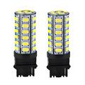 2PCS Lot Auto 3156 42 SMD 5630 LED White Turn Signal Reverse Light Lamp Bulb Car
