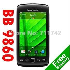 Unlocked original Blackberry 9860 storm Mobile cell phone Valid PIN+IMEI refurbished(China (Mainland))