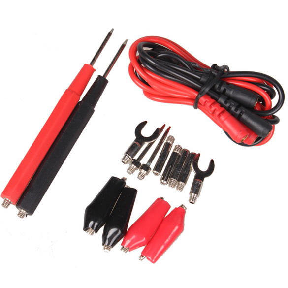 Needle Tip Probe Test Leads Pin Hot Universal Digital Multimeter Multi Meter Tester Lead Probe Wire Pen Cable Test Line