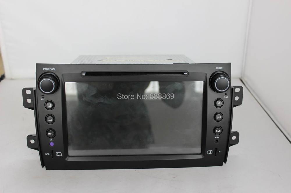 1024 600 HD 2 din 8 Android 4 4 Car DVD GPS Navi for Suzuki SX4