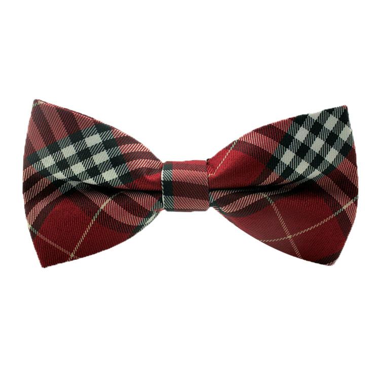 1pcs striped Cotton MENS Luxury 2 Layer Beige Red Black font b Tartan b font Dickie