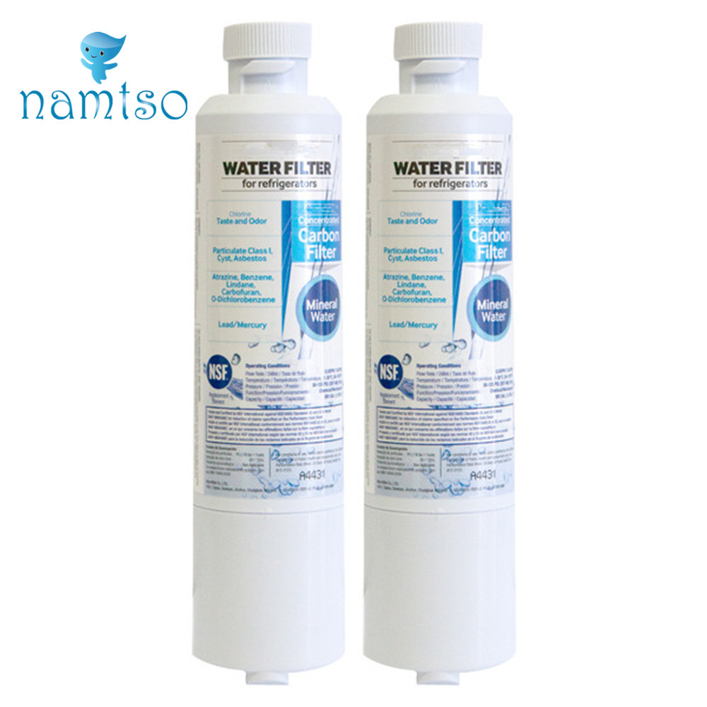 2-Pack Replacement Cartridge DA29-00020B HAF-CIN/EXP Activated Carbon Refrigerator w Filter 20b for Samsung Mineral Water Filter(China (Mainland))