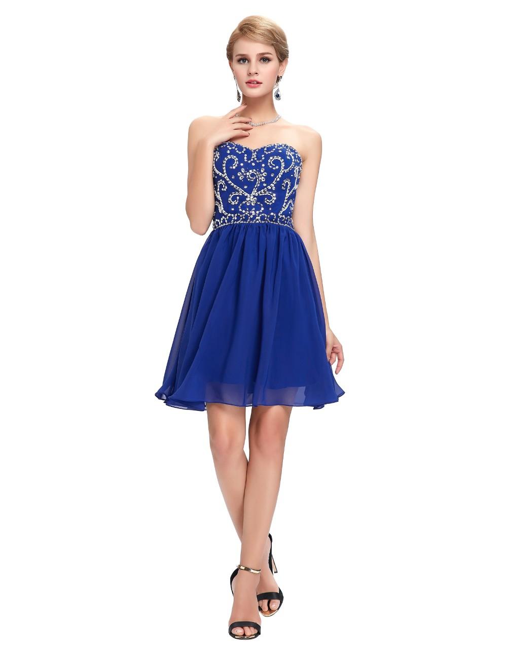Грейс карин синий зеленый черный короткие платья выпускного вечера милая танец сексуальный ну вечеринку платье блесток платье GK6049