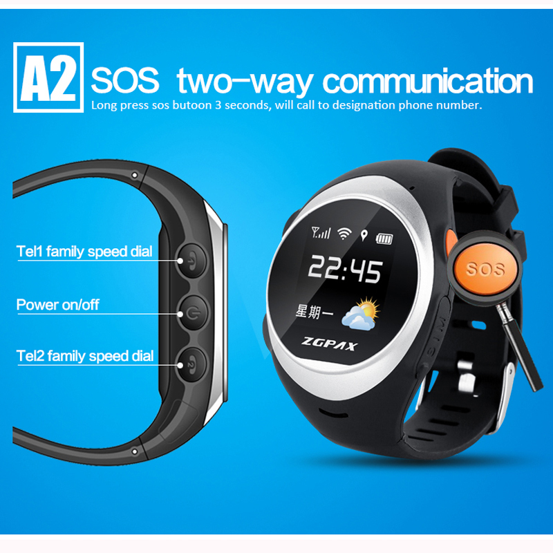 wholesale WIFI position child/elder gps track watch, SOS GPS tracker watch smart watch,s888 the better quality original factory(China (Mainland))