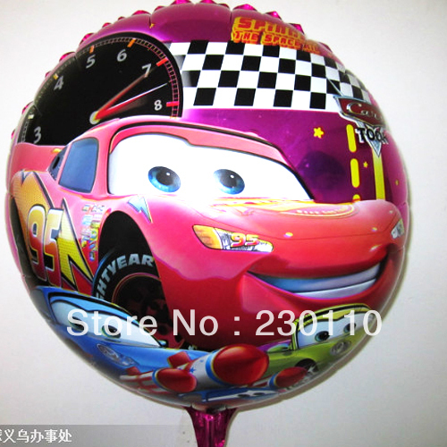 Hot sales ! 5s 18 inch foil balloons , heart-shaped helium balloon Cars - Happy Balloon Family store