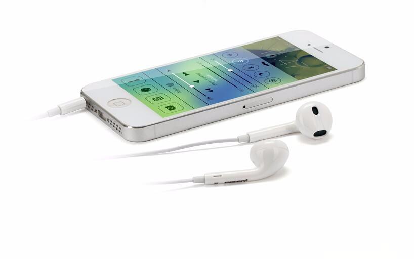 2016 Genuine New earpod In-Ear headphone With Remote & Mic For Apple IPhone 5 /5s/6 headset earphone