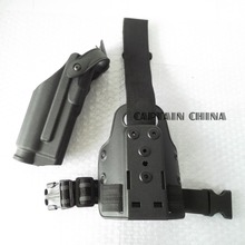 Buy Self-Lock Tactical Holster Glock Light Bearing M6 TLR-2 Holster fits holster glock 17 19 22 23 for $26.35 in AliExpress store